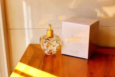 Lucky 1of1收藏Lolita Lempicka L'Eau Jolie 洛麗塔 朱莉之水 50/100ML特價EDT