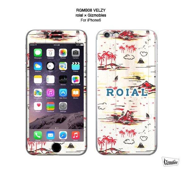 GOODFORIT/ 日本Gizmobies RGMB08 VELZY iPhone 6/6S保護貼