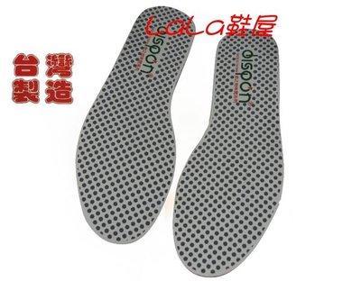 LaLa鞋屋~Dispon地之柏~天然豚皮 吸汗透氣~奈米防臭~點點~舒壓彈性 乳膠後插~台製~