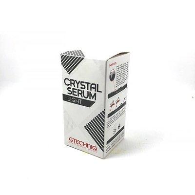 『好蠟』GTechniq Crystal Serum Light 30ml (GT CS專業鍍膜)