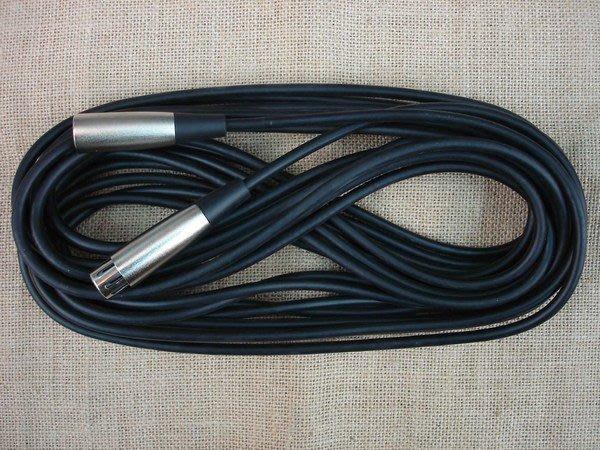 【六絃樂器】全新台灣製 三芯麥克風線 長度10米 / 舞台音響設備 專業PA器材