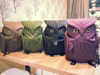 香港貓頭鷹後背包(L) ,實品拍攝有店面🌟最特別的禮物都在奧爾思🌟