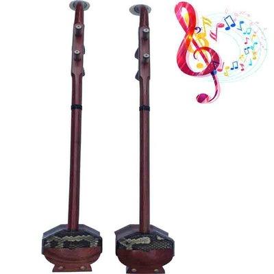 【民族乐器】民族樂器紅木高胡專業演奏型高胡扁八方帶罩高胡 H3976D