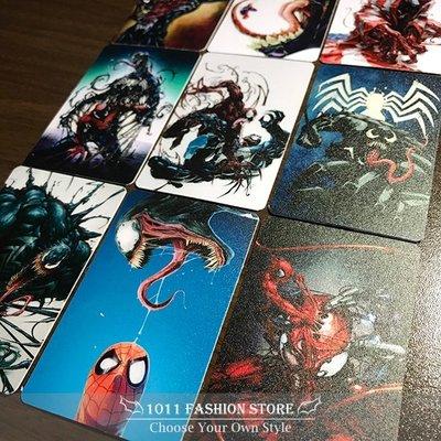 MARVEL 復仇者聯盟 蜘蛛人 猛毒 icash2.0 悠遊卡 卡貼 限量卡貼 9張一組 另有 鋼鐵人