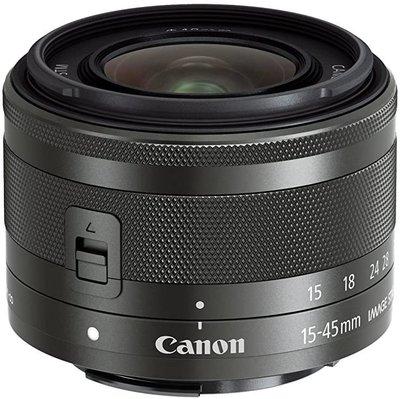 【高雄四海】Canon EF-M 15-45mm F3.5-6.3 IS STM全新平輸.一年保固.M系列微單標準鏡白盒