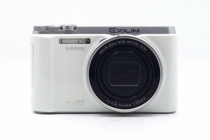 【台中青蘋果競標】Casio ZR1000 ZR-1000 白 數位相機 瑕疵機出售 螢幕外框有裂痕 #36335
