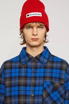 【全新正貨私家珍藏】Acne Studios 經典笑臉羊毛毛線帽 ((2020新色))