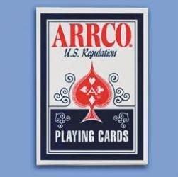 【USPCC撲克牌】ARRCO US regulation 撲克牌 藍(黑封標)