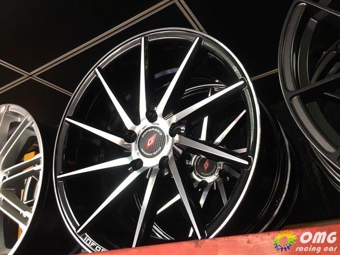 +OMG車坊+全新北德文鋁圈 1992 17吋鑄造品 5X114 8J ET32 亮黑色車面 類CVT