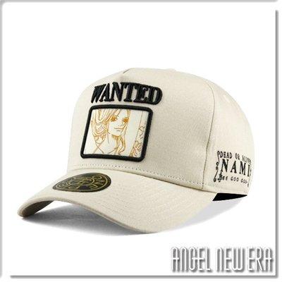 【ANGEL NEW ERA】ONE PIECE 航海王 懸賞單 娜美 米白色 老帽 卡車帽 東映授權 限量帽 贈帽撐