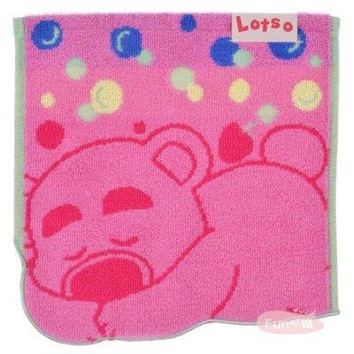日本迪士尼 熊抱哥 小方巾。現貨【Fun心購】