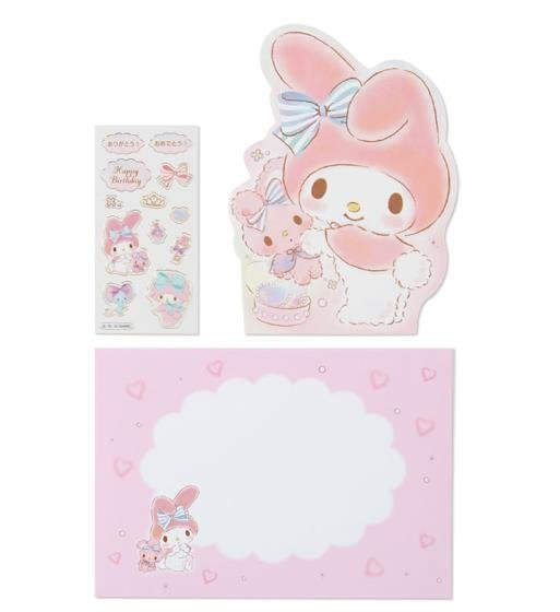 【莓莓小舖】正版 ♥ Sanrio 三麗鷗 Melody 美樂蒂 造型萬用卡片