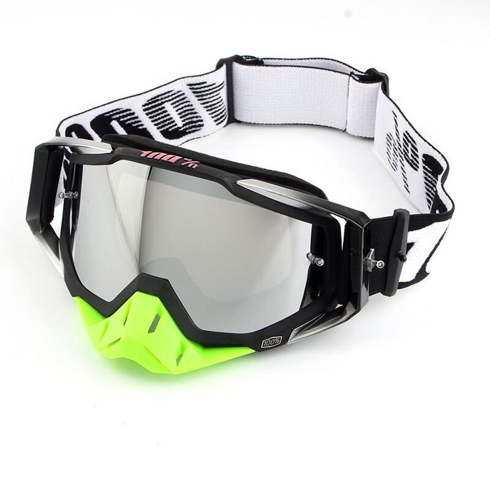 【購物百分百】摩托車眼鏡 酷炫騎士越野騎行護目鏡 速降競速頭盔風鏡 單只裝
