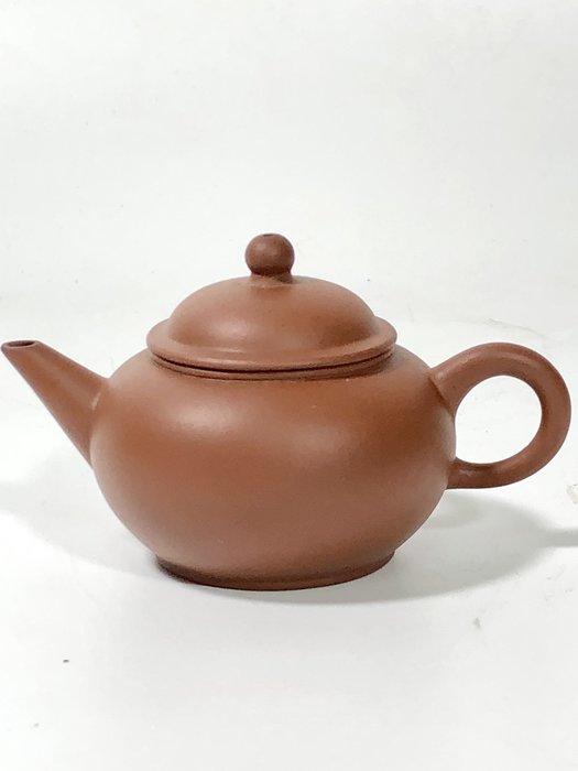 1970年代標準壺水平小罐紅泥 可以堂普洱茶苑A1