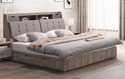 【生活家傢俱】SY-9-(1+2)※奧蘭多5尺雙人床【台中17000送到家】床頭箱+床底 防潑水亞麻布+木心板 台灣製造