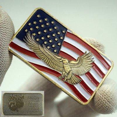 陳氏古玩美國榮耀紀念幣愛國者 復古幸運收藏異形幣鷹徽俄亥俄州紀念幣