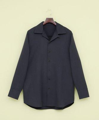 EMMA Clothes 開襟長袖襯衫 襯衫外套 古巴領