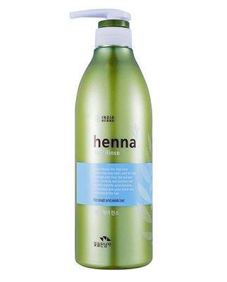 韓國 Henna Hair Rinse 新一代指甲花 潤髮乳/1瓶/730ml