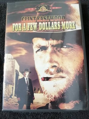 【美版1區DVD】黃昏雙鏢客for a few dollars more