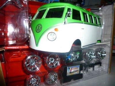 {車界模王}VW 福斯復古老巴士 T1 重度改裝版!!!!!