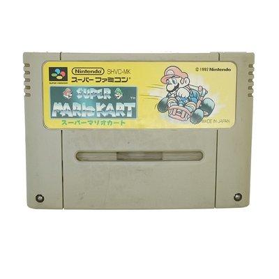 【二手遊戲】任天堂 NINTENDO 超級任天堂 SFC 超級瑪莉歐賽車 SUPER MARIO KART 日文版 裸裝
