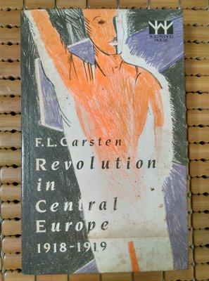 不二書店 revolution in central europe 1918-1919 F.L.CARSTEN