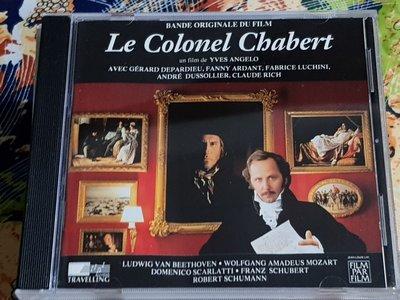 R古典(二手CD)LE COLONEL CHABERT~BANDE ORIGINALE~法版~~無ifpi~(古)