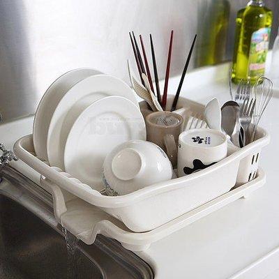 【樂樂生活精品】碗筷、盤子清洗 排水式碗盤收納瀝水架 免運費! (請看關於我) 桃園市