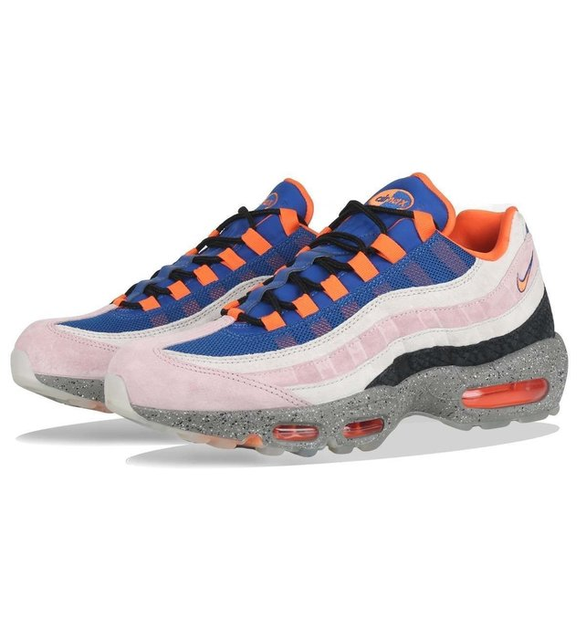 super popular d7e66 01999 R代購 Nike Air Max 95 ACG Mowabb 藍橘粉紅灰 AV7014-600 男女-Yahoo奇摩拍賣