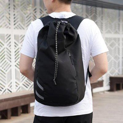 【免運】籃球包大容量籃球包後背收納袋子束口健身抽繩背包訓練運動SGZL5962