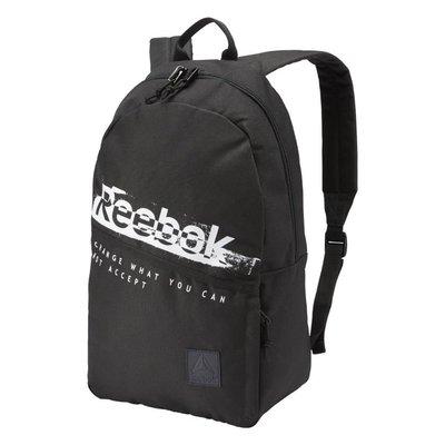 =CodE= REEBOK FOUNDATION GRAPHIC BACKPACK 帆布後背包(黑白)CZ9752 筆電