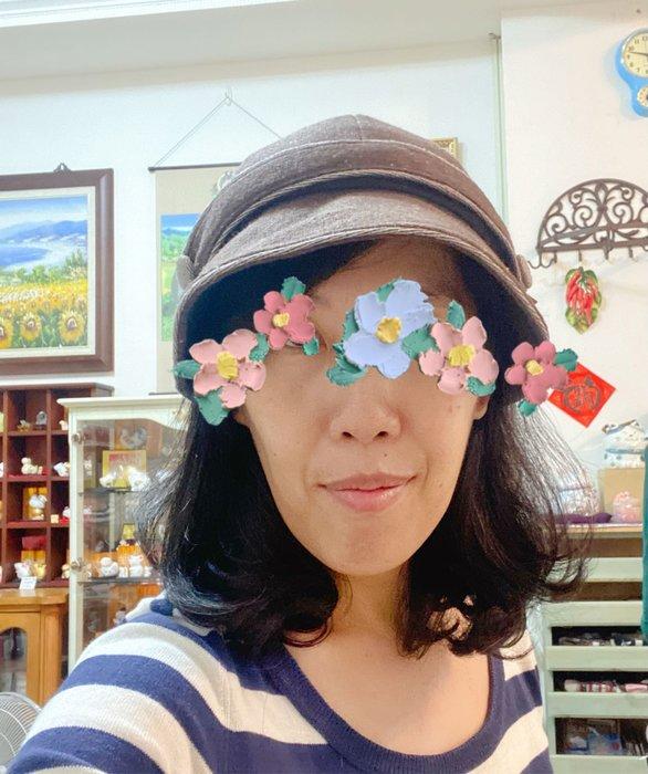 美家園日本生活館 日本帶回 毛呢報童帽 可調帽圍 咖啡色