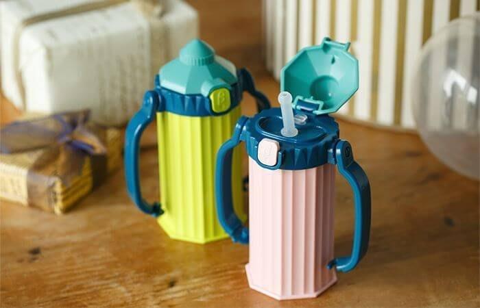 @桜庭居@BETTA 奶瓶城保系列~~限量寶寶專用學習杯杯~~2色可選~~
