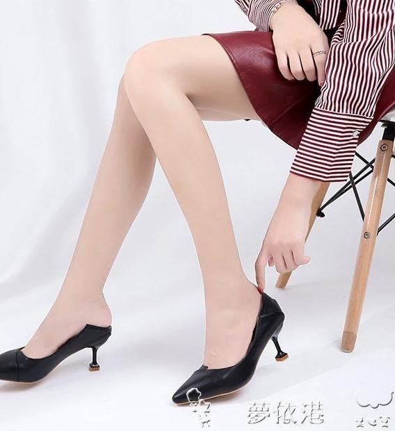 高跟鞋高跟鞋少女細跟春季韓版百搭尖頭秋季小清新貓跟5cm單鞋