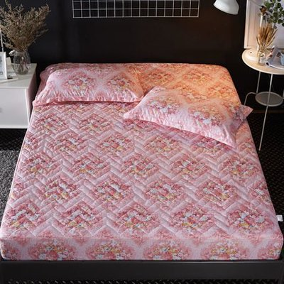 [Special Price]九FR5E3《2件免運》24花色 150*200公分寬 標準雙人床 加厚鋪棉床包1件(不含枕套)