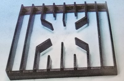 一鑫餐具【高湯爐架33*33】鑄鐵架爐架湯爐架湯台架生鐵架炭架西餐爐