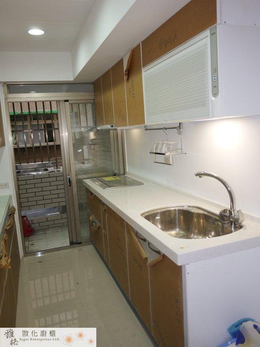 【雅格廚櫃】工廠直營~一字廚櫃、流理台、結晶鋼烤、PanasonicIH調理爐KY-E227B