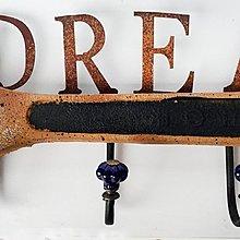 ~*尚盈家飾*~樹脂DREAM四鉤壁掛 掛鉤 裝飾 裝潢擺飾 居家店面布置