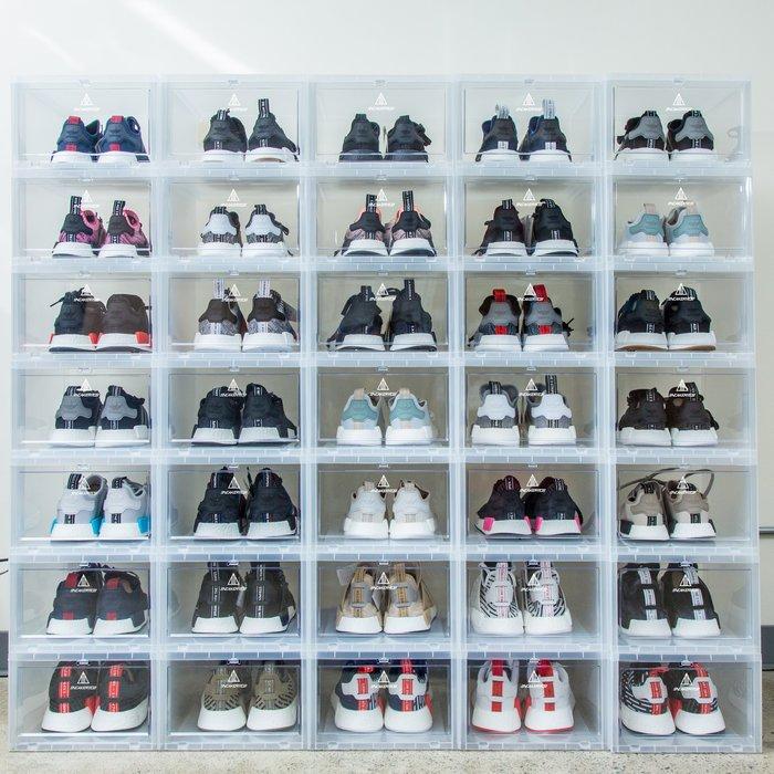 【高冠國際】SNEAKER MOB SNEAKER BOX 球鞋 收藏箱 鞋盒 收納 展示盒 透明盒 6件組