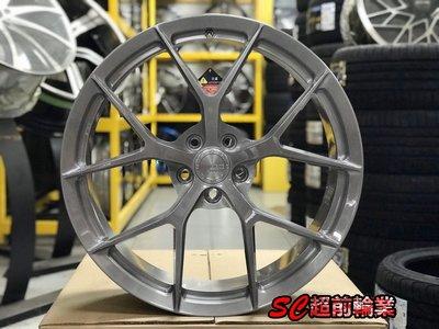 【超前輪業】客製化鍛造 BC KL01 18吋19吋 20吋 21吋 5孔114.3 100 120 112 髮絲灰
