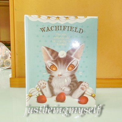 wachifield-dayan(瓦奇菲爾德,達洋)~全新非賣品貓咪相片明信片收集簿~奶油蛋糕