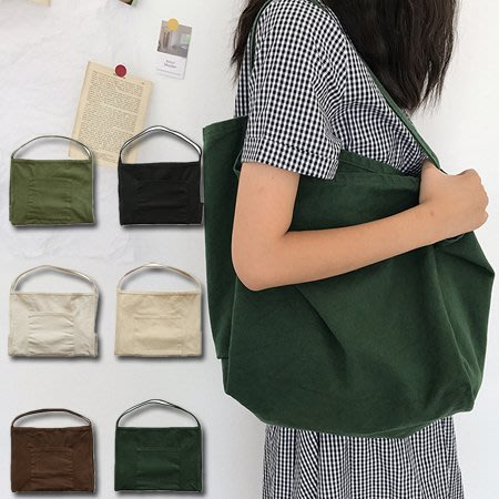 超大容量加厚帆布大包/購物袋/工具袋 5色【F929209】