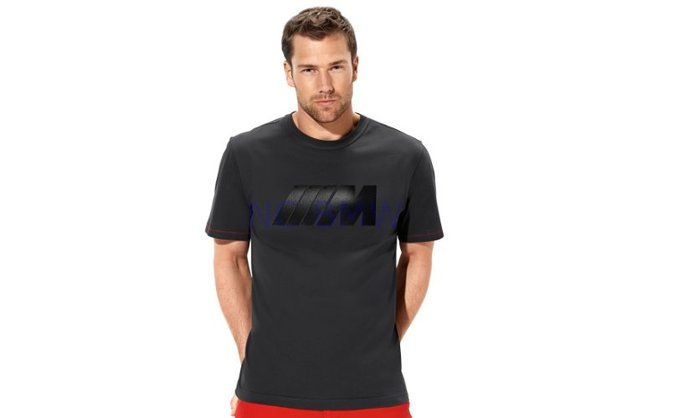 【樂駒】BMW M Collection M款 原廠 生活 精品 黑色 T-Shirt 短袖 休閒 舒適 LOGO