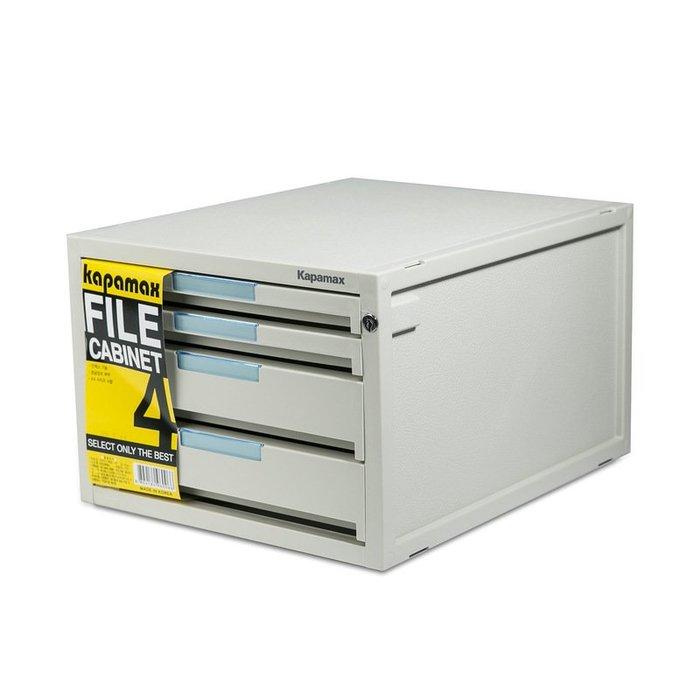 〖洋碼頭〗韓國原產進口kapamax普萊諾收納箱收納盒儲物箱帶鎖2層+2高層 L2876