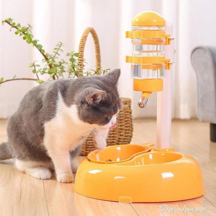 狗狗飲水器貓飲水機寵物掛式泰迪比熊用品立式自動喂食喂水喝水器
