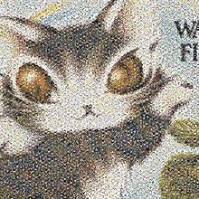 拼圖專賣店 日本進口拼圖 10-1370(1000片拼圖 達洋貓 馬賽克)