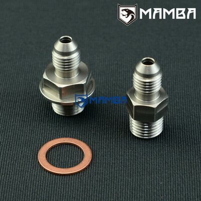 SS303 Turbo Oil Feed Adapter Fitting Kit For BorgWarner S400