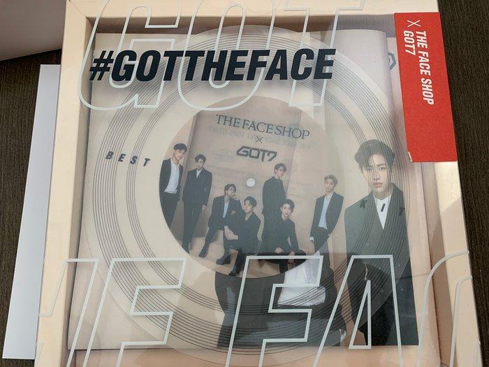☆愛寶韓國空運☆ THE FACE SHOP GOT7 x 聯名三件組 【現貨】
