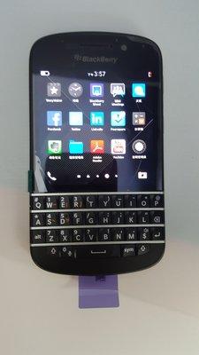 Blackberry Q10 (黑色)全新港行一機一電一充