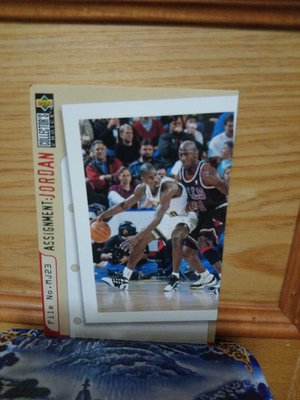 1996 Collectors Choice Assignment Michael Jordan #366